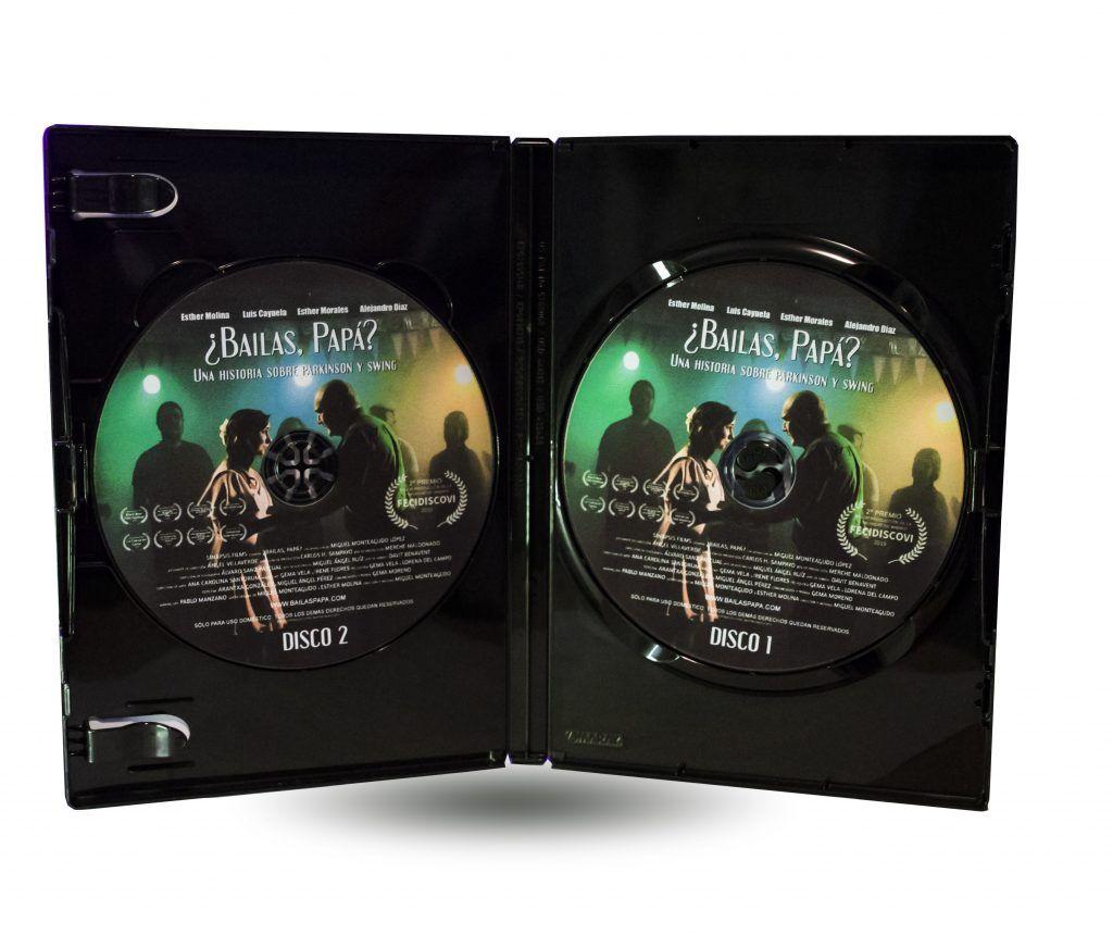 DVD de Bailas Papa